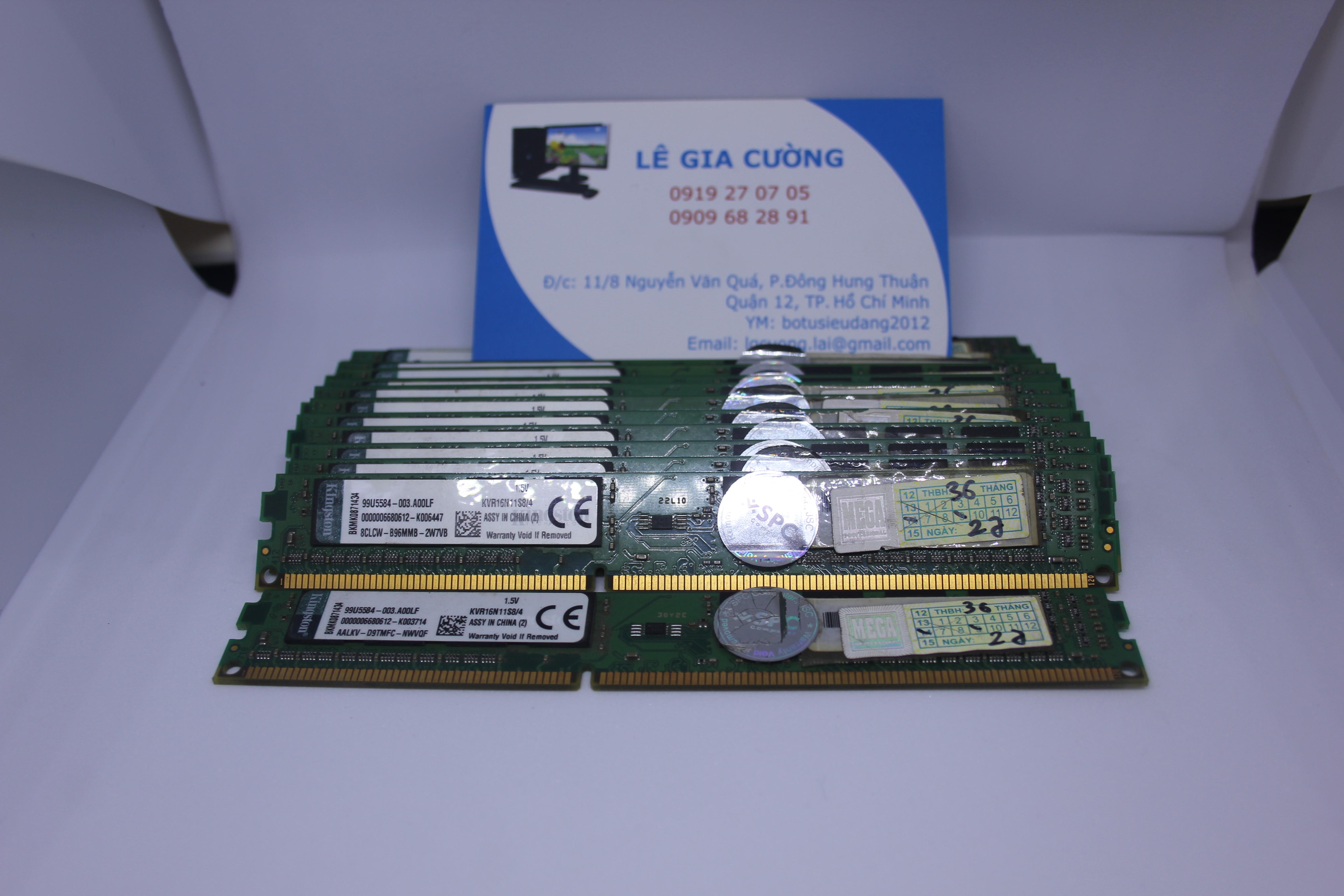 DDR III 4Gb 1333/1600