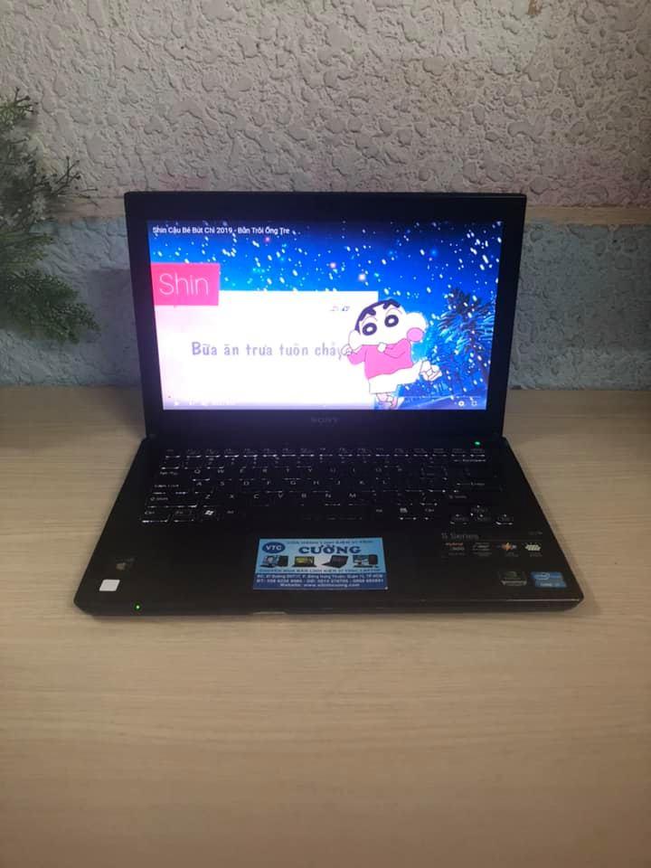 Laptop SONY VAIO i7 3540M /Màn hình 13.3inch / Ram 4Gb/ SSD 120Gb/ Đồ hoạ GF 640M + HD 4000/ Đèn bàn