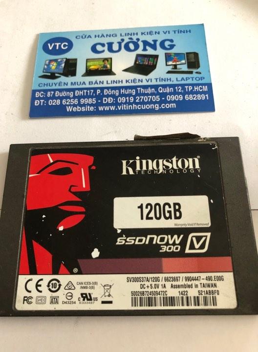 Ổ cứng SSD Kingston 120GB 2.5