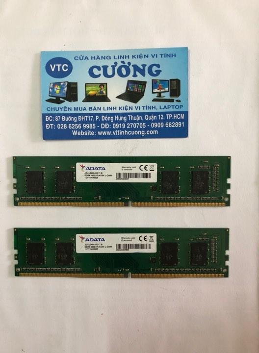 Ram DDR4 4Gb buss 2400 ADATA ( BH 2020)
