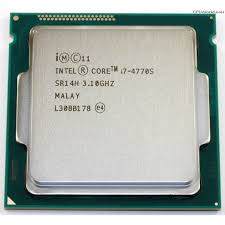 Chip intel core I7 4770S