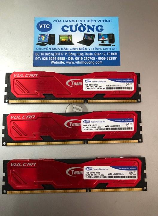 Ram Team Group lnc 4Gb DDR3 2133 ( Bh 9/2020)