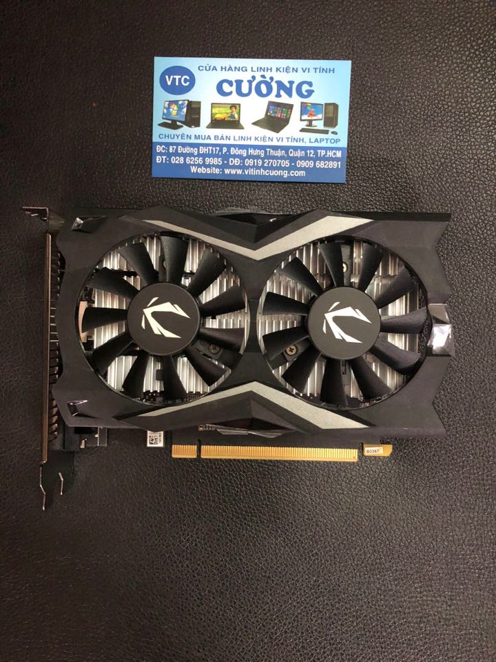 Card màn hình ZOTAC GAMING GeForce GTX 1650 AMP 4Gb 128BIT D6 (BH 28/8/2023)