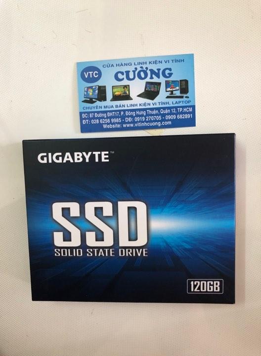 Ổ cứng SSD Gigabyte 120G SATA III