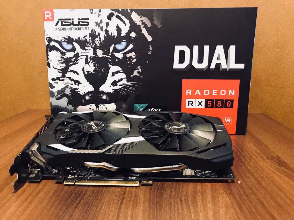 Vga Asus Radeon Dual RX580 8Gb