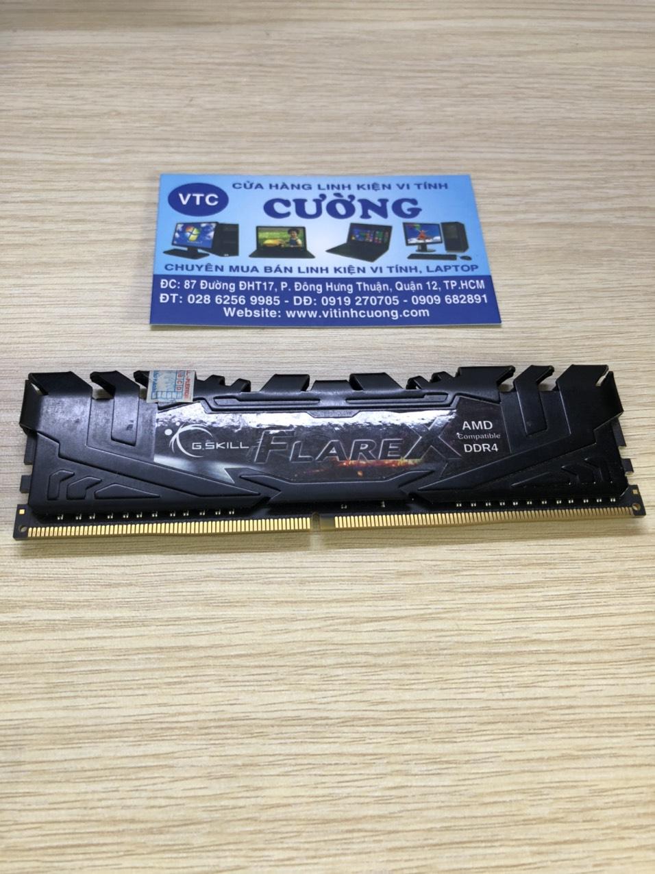 Ram GSKILL FlareX DDR4 8GB Bus 2400 Tản nhiệt