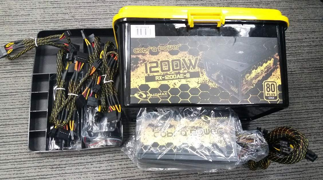 Nguồn Raidmax Cobra Power 1200W