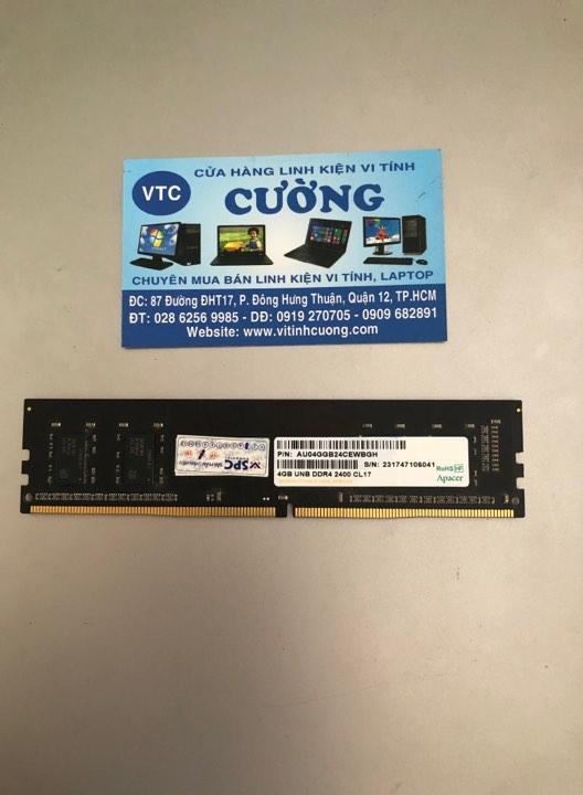 RAM Apacer Panther 4Gb DDR4-2400 BH 03/2020